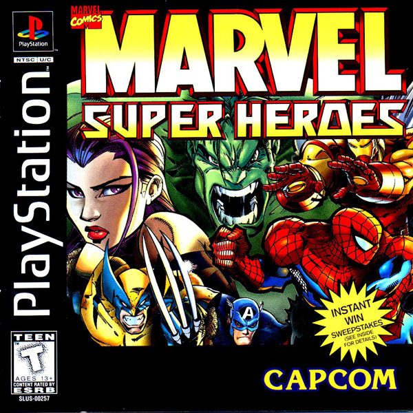 Marvel Super Heroes Front Cover